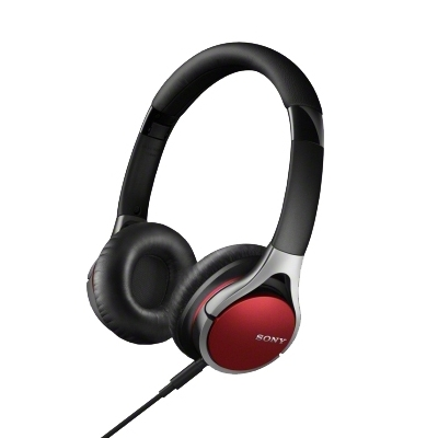 Наушники Sony MDR-10RC red