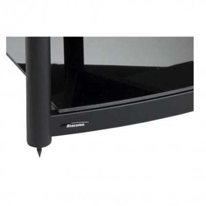 Подставка модульная Atacama Equinox Single Shelf Module AV white/piano black (полка)