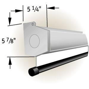 """Экран Draper Luma 2 AV (1:1) 108/108"""" 274*274 MW (XT1000E) case white"""