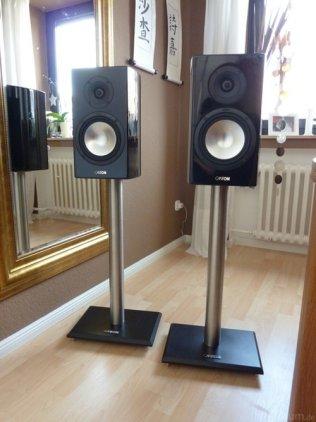 Полочная акустика Canton Vento 820.2 black high gloss (пара)