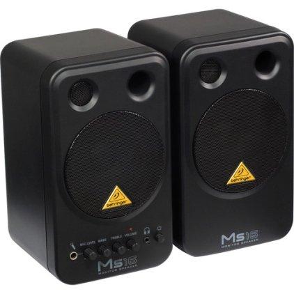 Студийный монитор Behringer MS16 (пара)
