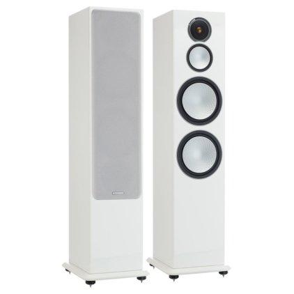 Напольная акустика Monitor Audio Silver 10 high gloss white