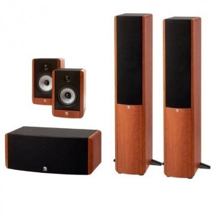 Комплект акустики Boston Acoustics A360 + A25 + A225C grain wood