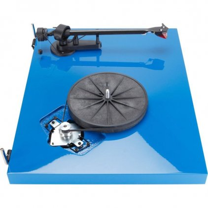 Проигрыватель винила Pro-Ject Debut Carbon (DC) blue (Ortofon OM10)