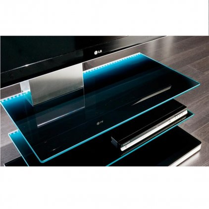 Стойка под телевизор Munari SY 342 NE с подсветкой (Черное)