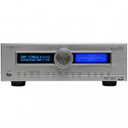 Стереоусилитель Cary Audio SI-300.2d black