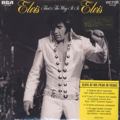 Виниловая пластинка Elvis Presley THAT'S THE WAY IT IS (180 Gram/Remastered/Gatefold)