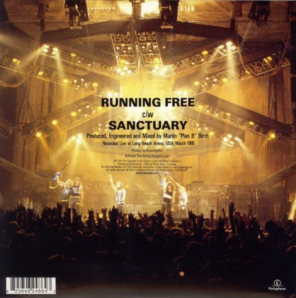 Виниловая пластинка Iron Maiden RUNNING FREE (LIVE) (Limited)