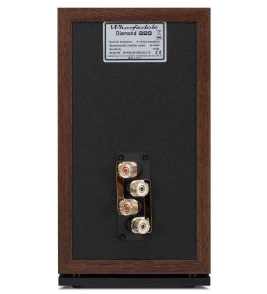 Полочная акустика Wharfedale Diamond 220 walnut
