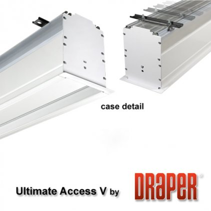 "Экран Draper Ultimate Access/V HDTV (9:16) 279/110"" 137*244 M1300 ebd 12"""