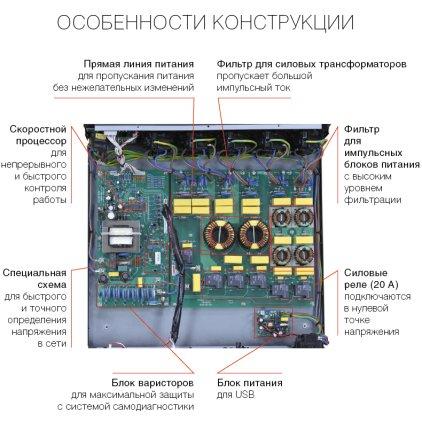 Сетевой фильтр PowerGrip YG-1 v2.0