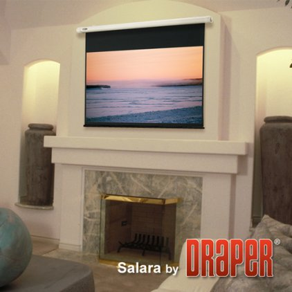 "Экран Draper Salara HDTV (9:16) 185/73"" 91*163 MW (XT1000E) ebd 12""TBD"