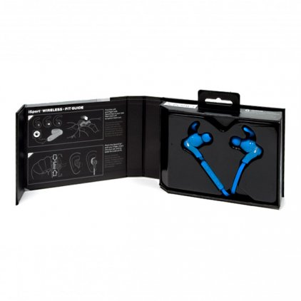 Наушники Monster iSport Bluetooth Wireless In-Ear Headphones Blue (128659-00)