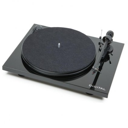 Проигрыватель винила Pro-Ject ESSENTIAL II DIGITAL (OM 5e) piano black