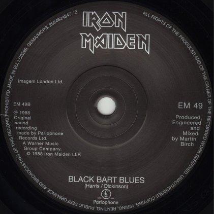 Виниловая пластинка Iron Maiden CAN I PLAY WITH MADNESS (Limited)