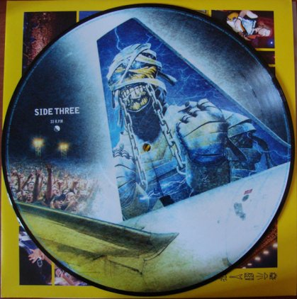 Виниловая пластинка Iron Maiden FLIGHT 666 - THE ORIGINAL SOUNDTRACK (Picture disc/180 Gram)
