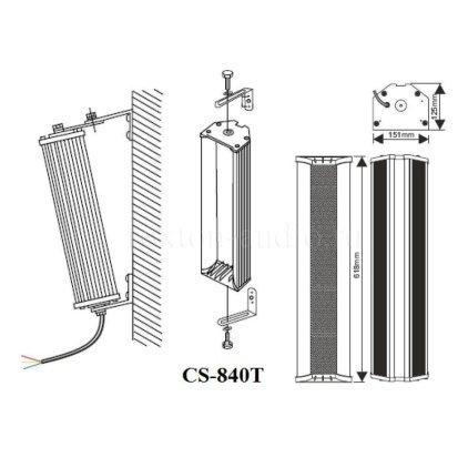 Звуковая колонна Roxton CS-840T