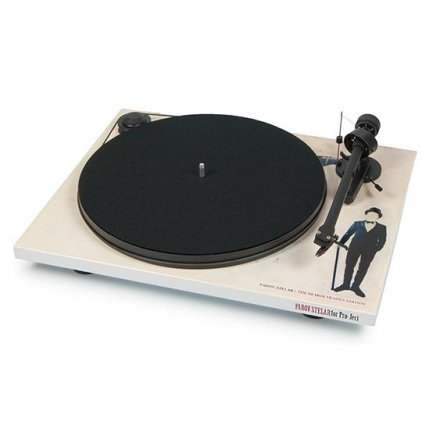 Проигрыватель винила Pro-Ject ESSENTIAL II (DC) (OM 5e) White Demon by Parov Stelar