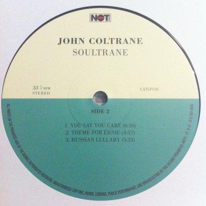 Виниловая пластинка John Coltrane SOULTRANE (180 Gram/Remastered/W233)