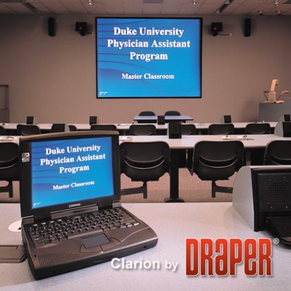 "Экран Draper Clarion NTSC (3:4) 213/84"" 127*170 M1300"