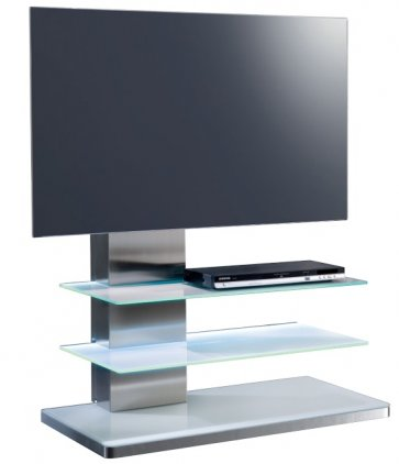 Стойка под телевизор Munari SY 342 GR с подсветкой (Серое)