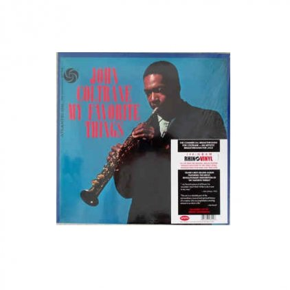 Виниловая пластинка John Coltrane MY FAVORITE THINGS (180 Gram)