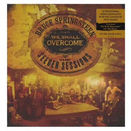 Виниловая пластинка Bruce Springsteen WE SHALL OVERCOME: THE SEEGER SESSIONS (180 Gram)