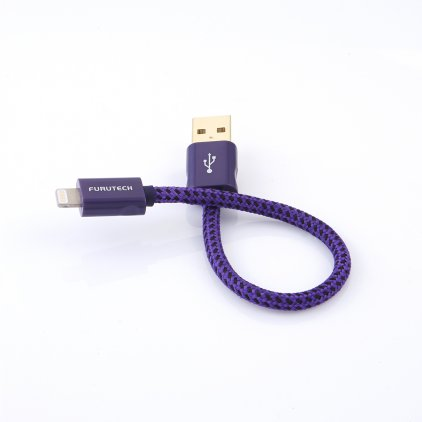 Кабель ADL GT8-A 0.10m High End performance cable Lightning connector to USB-A