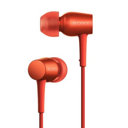 Наушники Sony MDR-EX750AP red
