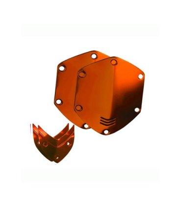 Сменные накладки для наушников V-Moda XS / M-80 On-Ear Metal Shield Kit Sun Orange