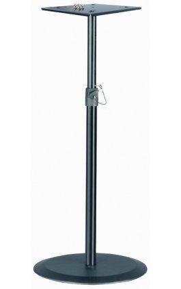 Стойка K&M K&M 26740-000-55 стойка для студ. мониторов, регулируемая высота h 950 - 1430 мм, сталь, черная