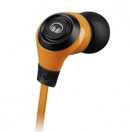 Наушники Monster MobileTalk Noise Isolating Orange