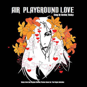 Виниловая пластинка Air PLAYGROUND LOVE (Orange vinyl/2 tracks)