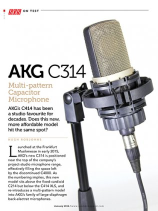 Микрофон AKG C314