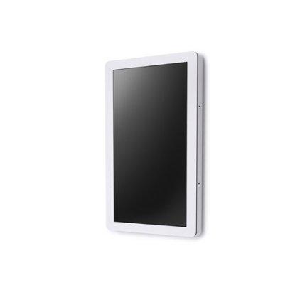 Вандалозащищенная стойка для ТВ SMS Media Cabinet Indoor Totem white