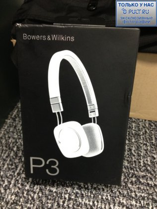 Наушники B&W P3 white