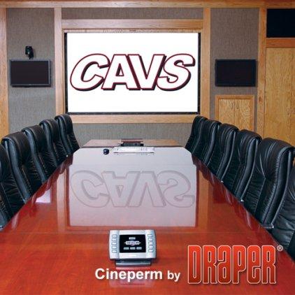 "Экран Draper Cineperm HDTV (9:16) 338/133"" 165*295 M1300 (XT1000V)250024"