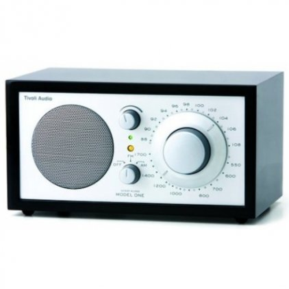 Радиоприемник Tivoli Audio Model One black/silver (M1SLB)