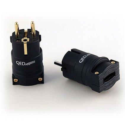 Разъем QED 3093 Performance Euro Plug Gold