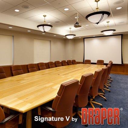 """Экран Draper Signature/V NTSC (3:4) 508/200"""" 300*401 XT1000V (М1300) ebd 12"""""""