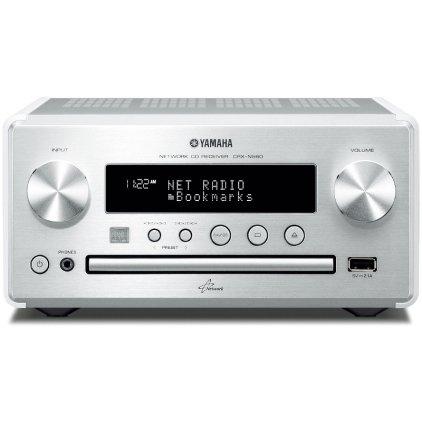 CD ресивер Yamaha CRX-N560 silver