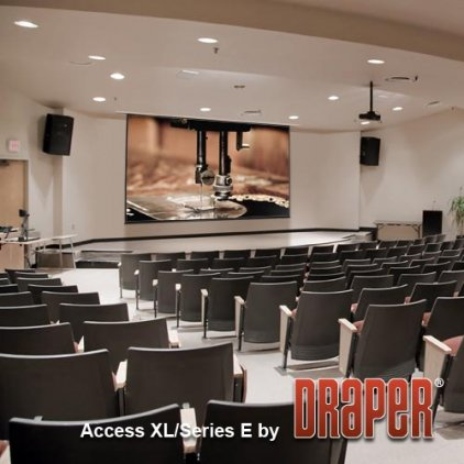 "Экран Draper Baronet HDTV (9:16) 185/73"" 91*163 MW (XT1000E) ebd 12"""