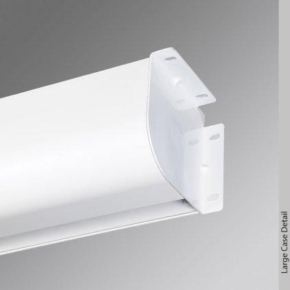 "Экран Draper Targa HDTV (9:16) 234/92"" 114*203 HCG (XH800E) ebd 12"" case white #700421"