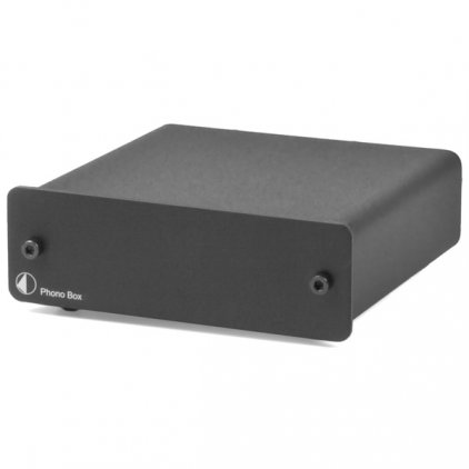 Фонокорректор Pro-Ject MM/MC PHONO BOX (DC) black