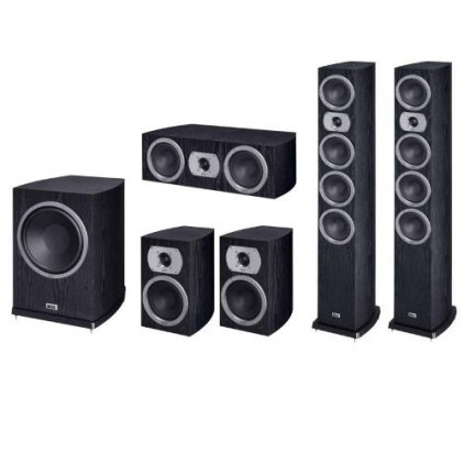 Комплект акустики Heco Victa Prime 602 Set 5.1 black (602+202+102+252)