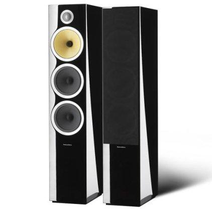 РАСПРОДАЖА Напольная акустика B&W CM9 S2 gloss black Демо образец, потертости, нет перемычек