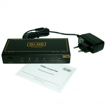 HDMI делитель 1x4 / Dr.HD SP 144 SL Plus