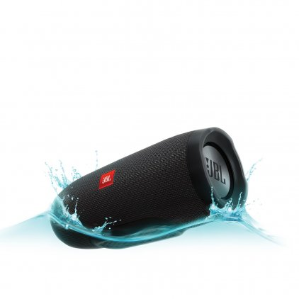Портативная акустика JBL Charge 3 black (CHARGE3BLKEU)