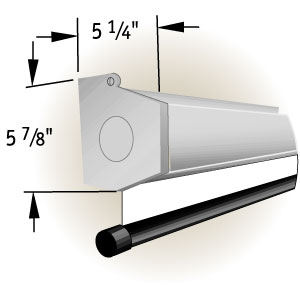 "Экран Draper Luma 2 NTSC (3:4) 335/132"" 198*264 XT1000E"