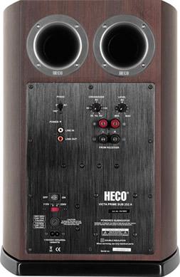 Сабвуфер Heco Victa Prime Sub 252 A espresso